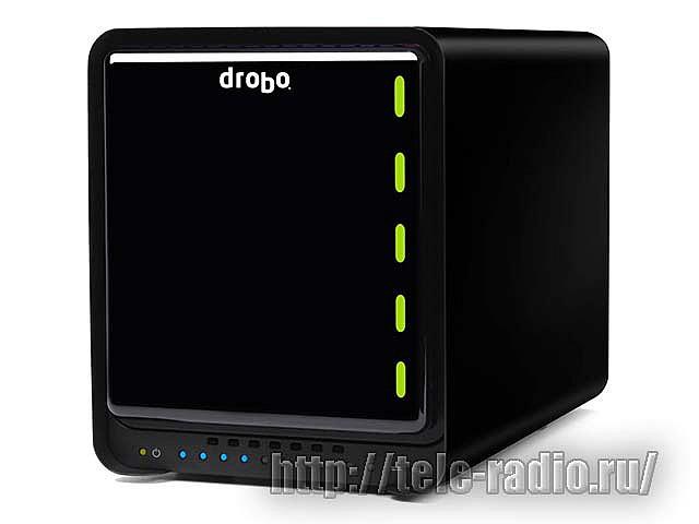 Drobo Inc - компактная линейка настольных дисковых систем хранения