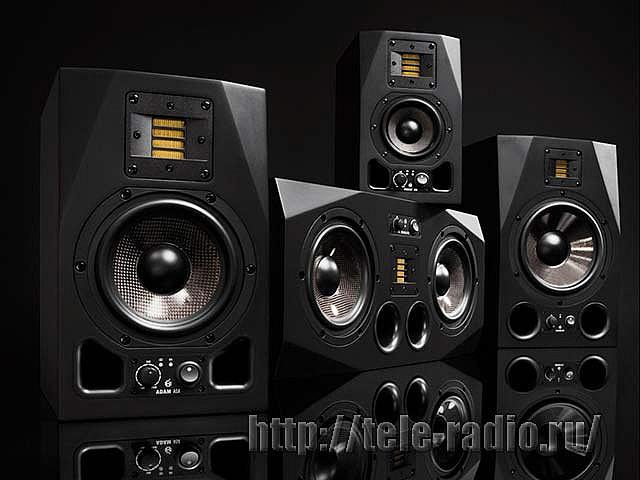 Активные аудиомониторы и сабвуферы от ADAM Audio