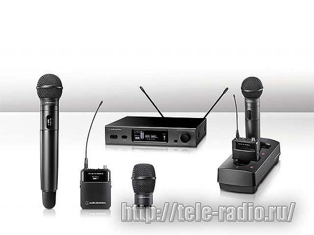 Радиосистемы Audio-Technica ATW 3000 UHF и ATW 5000 UHF