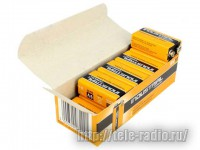 Duracell 6LR61/10BOX INDUSTRIAL