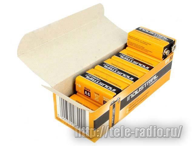 Duracell 6LR61/10BOX INDUSTRIAL (6LP3146)
