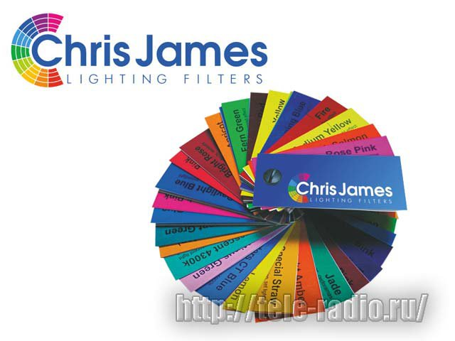 Chris James светофильтры #002 - #220