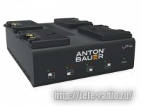 Anton Bauer LP4 Quad Gold Mount (V-Mount) Charger