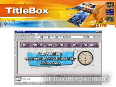 Playbox TitleBox