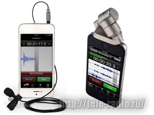 RODE iOS - микрофоны для iPhone & iPad и смартфонов