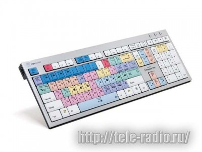 Logic Adobe Premiere Pro CC Slim Line PC Keyboard