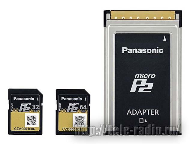 Panasonic карты памяти P2