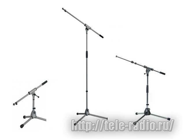 KONIG&MEYER (K&M) микрофонные стойки, держатели, удочки