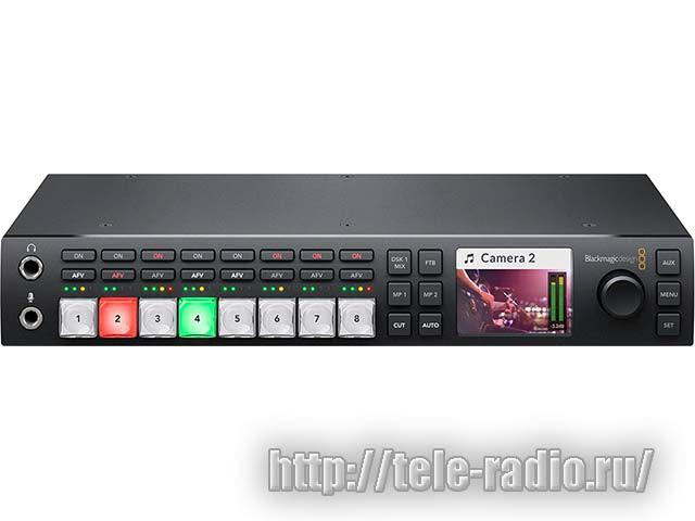 Эфирный видеомикшер Blackmagic ATEM Television Studio HD
