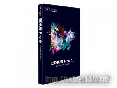 Grass Valley EDIUS Pro 9 (serial)