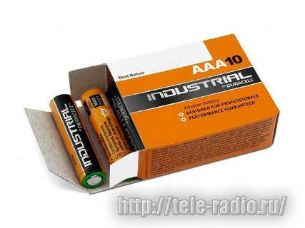 Duracell Industrial LR03