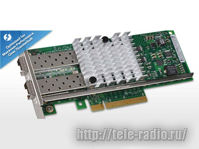 Sonnet Presto 10GBE SFP+ Ethernet 2-Port PCIe Card