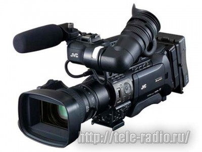JVC GY-HM890RE - HD SDHC Memory Camcorder with IP