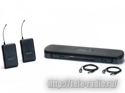 SHURE BLX Wireless Systems радиосистемы