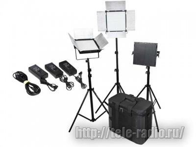 DOF D1296S Bi-Color 3-light kit