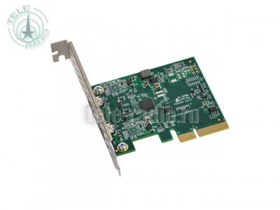 Sonnet Allegro USB 3.1Two-Port USB-C 10Gb PCIe Card