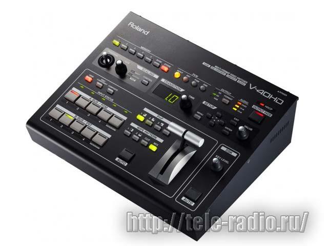 Многоформатный видеомикшер Roland V-40HD