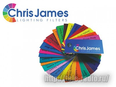 Chris James светофильтры #220 - #738