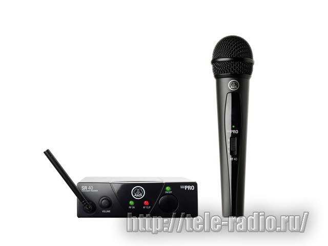AKG WMS 40 Mini вокальные и инструментальные радиосистемы