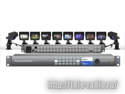 Blackmagic MultiView