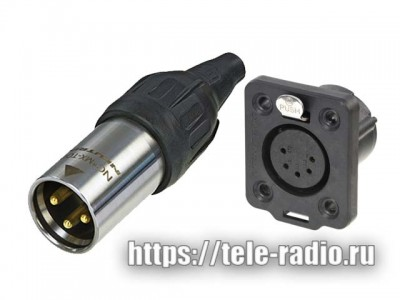 Neutrik XLR TRUE OUTDOOR PROTECTION (TOP)