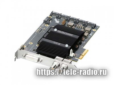 Blackmagic Fairlight PCIe Audio Accelerator